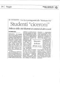 Alunni Ciceroni